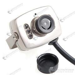 Миниатюрная цветная CCD камера с водонепроницаемым