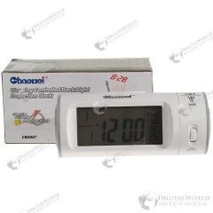 Часы с календарем, термометром и прожектором