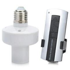 Патрон E27 для лампы накаливания с пультом