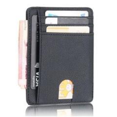 Маленький тонкий бумажник со специальным покрытием