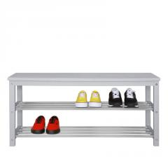 Банкетка Fenster NVD-04 Светло-серая