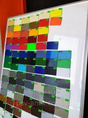 Полиэфирная краска,антик зеленый крупная структура N952 ,