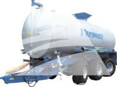Ассенизационная машина наливная с гидравлическим