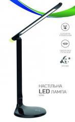 Настольная LED лампа LEDEX 9W черная 4000К 3...
