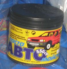 Паста для мытья рук Автомастер 550 грамм № 1