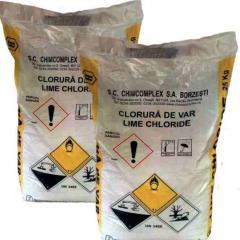 Хлорная известь (сухая хлорка) в мешках по 25 кг