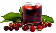 Juice cherry natural