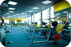 Резиновые покрытия для тренажёрных залов