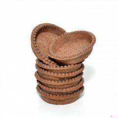 Тарталетки из теста с какао для десертов 216г.
