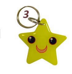 Брелок T5577 star