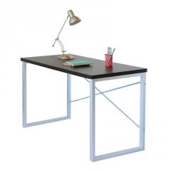 Письменный стол Fenster Интеграл Серебро 75,5x120x60 столешница Венге
