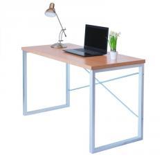 Письменный стол Fenster Интеграл Серебро 75,5x120x60 столешница Бук