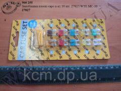 Запобіжники плоскі 27827/WTE МС-10 (Евро, 10 шт)