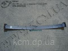 Лист 1 ресори перед. 255Б-2902074-01 (L=1503, з чашками) БЗРП