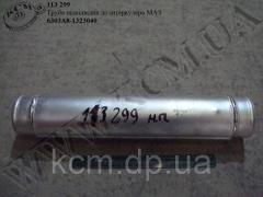 Труба підвідвідна до інтеркулера 6303А8-13230