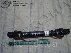 Вал карданний рульового управління нижн. 256000-3444062 (L=375) БААЗ, арт. 256000-3444062