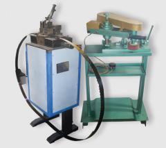Аппарат для соединения ленточных пил плавлением