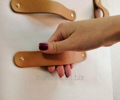 Milano leather handle for furniture