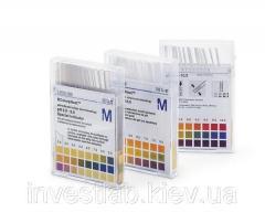 Индикаторные полоски для определения остаточной кислотности/щёлочности MERCK 9588