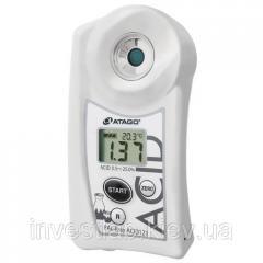 Измеритель кислотности сакэ PAL-Easy ACID 121 Master Kit
