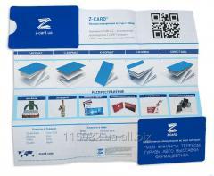 Booklets: Z-CARD®. Format-Z