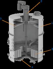 Equipment for production of sugar. BA2-B-60 vacuum