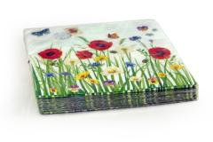 The branded paper children's napkins, dense