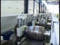 The line for production construction C,U,Z of