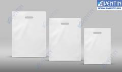 Path Handle Bags white glossy 240Х330 (50pcs /