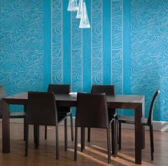 Vinyl wall-paper high-resistant for office room