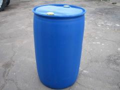 Container for not foodstuff. Barrels metal 200