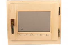 Окно для бани поворотное 600*500