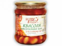 "Квасоля в томаті ""Наш продукт"" *8шт"