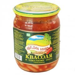 "Квасоля в томатному соусі ТМ ""Щедра"