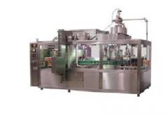 The packaging machine for dairy products