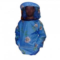Куртка пчеловода ситцевая с классической маской