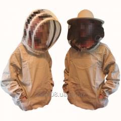 Куртка пчеловода коттон с европейской или