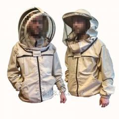 Куртка пчеловода коттон на замках с европейской