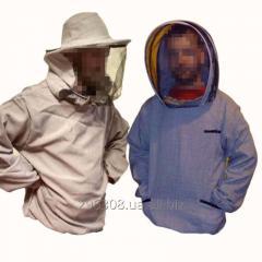 Куртка пчеловода лен-габардин с разными вариантами