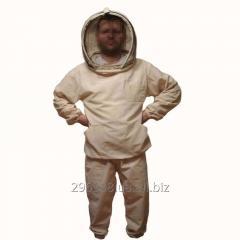 Куртка пчеловода бязь с европейской или