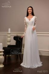 Wedding dress, model 1015