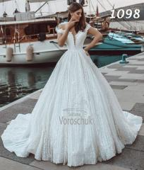 Wedding ballgown, model 1098