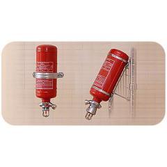 Модуль пожаротушения автономный объёмный настенный