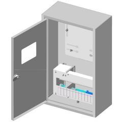 Ящик учета и распределения электроэнергии