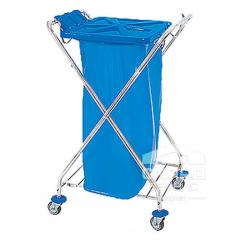 Тележка для уборки помещений: рама для мусорных