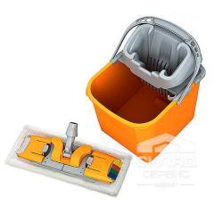 Комплект для уборки: ведро 20 л, отжим, держатель