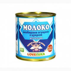 Молоко згущене біле LOVELUKA  8.5% 380г