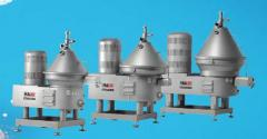 Separators, cream separators