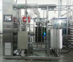 Installing drinks pasteurization