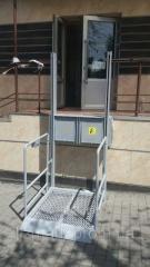 Вертикальный инвалидный подъемник WLM-01